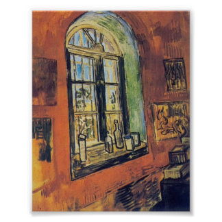 Van Gogh- Window of Vincent's Studio at the Asylum Poster