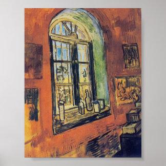Van Gogh- Window of Vincent's Studio at the Asylum Posters
