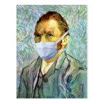Van Gogh With Mask