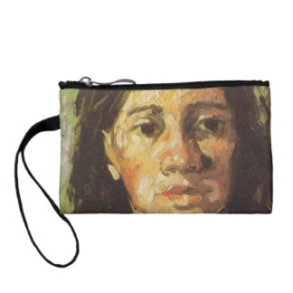 Van Gogh | Woman with her Hair Loose Coin Purses