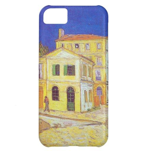 Van Gogh Yellow House iPhone 5C Cases