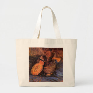 Van Gogh's 'A Pair of Shoes' Tote Bag Jumbo Tote Bag