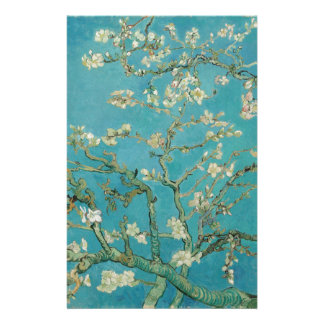 Van gogh's Almond Blossom Personalised Stationery