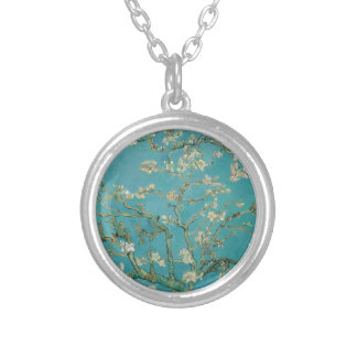 Van gogh's Almond Blossom Silver Plated Necklace
