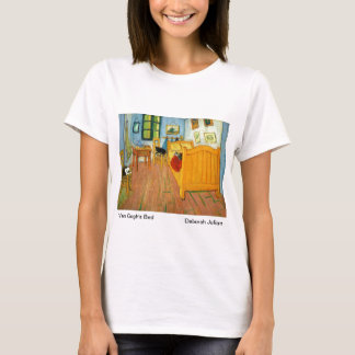 Van Gogh's Bedroom (Artists Cats Added) T-Shirt