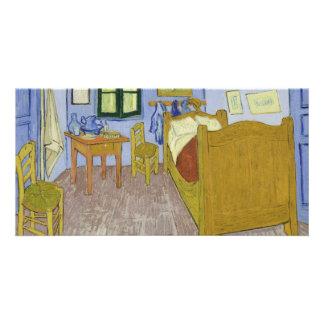 Van Gogh's Bedroom in Arles by Vincent Van Gogh Customized Photo Card