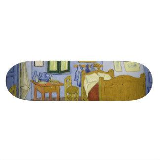 Van Gogh's Bedroom in Arles by Vincent Van Gogh Custom Skateboard