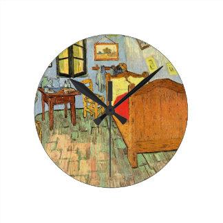 Van Gogh's Bedroom Round Clock