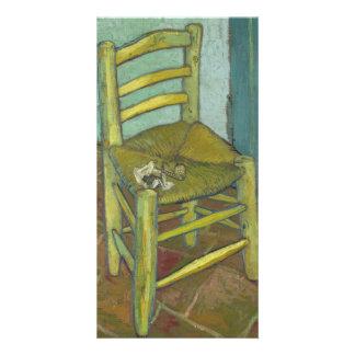 Van Gogh's Chair by Vincent Van Gogh Photo Card Template