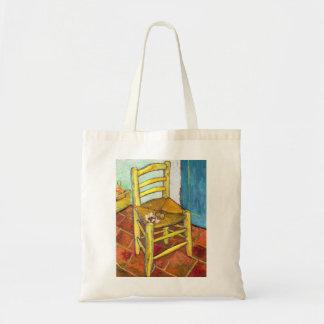 Van Gogh's Chair  Vincent van Gogh  fine art Bag