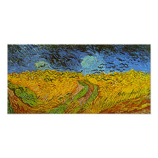 Van Gogh's 'Crows in a Wheatfield' Posters
