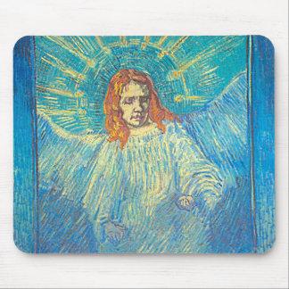 Van Gogh's 'Half Figure of an Angel' Mousepad Mouse Pad