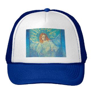Van Gogh's 'Half Figure of an Angel' Trucker Hat