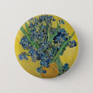Van Gogh's Iris 6 Cm Round Badge