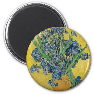 Van Gogh's Iris Magnet