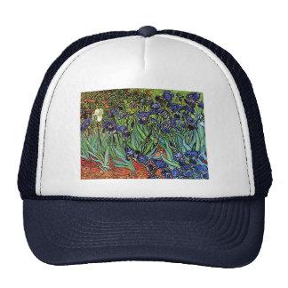 Van Gogh's 'Irises' Trucker Hat