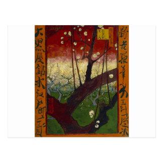 Van Gogh's Japonaiserie after Hiroshige Postcard