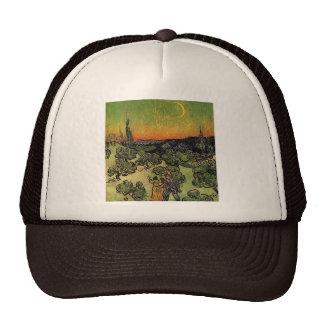 Van Gogh's 'Landscape w/ Couple Walking' Hat Trucker Hat
