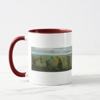 Van Gogh's Peasants or Farmers Planting Potatoes Mug