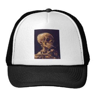 Van Gogh's 'Skull w/  a Burning Cigarette' Hat Trucker Hat