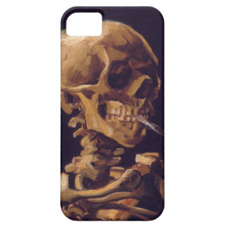 Van Gogh's Skull With a Burning Cigarette iPhone 5 iPhone 5 Covers