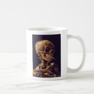Van Gogh's Skull with a Burning Cigarette Mug