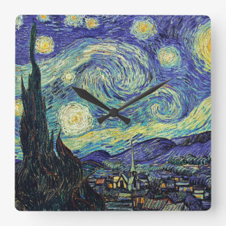 Van Gogh's Starry Night Clock