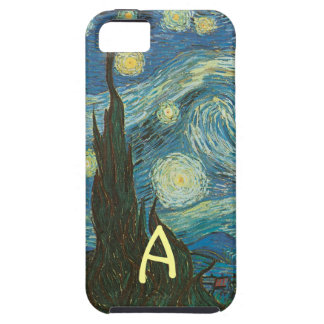 Van Gogh's Starry Night Detail Tough iPhone 5 Case