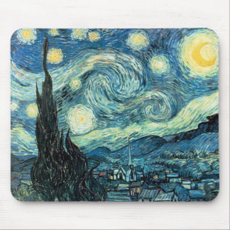 "Van Gogh's ""Starry Night"" Mousepad"