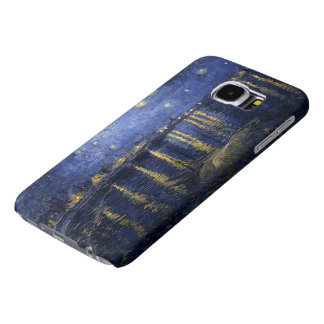 Van Gogh's Starry Night Over the Rhone Samsung Galaxy S6 Cases