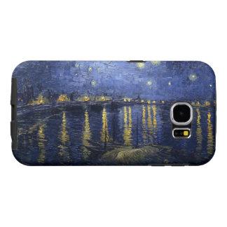 Van Gogh's Starry Night Over the Rhone Samsung Galaxy S6 Cases
