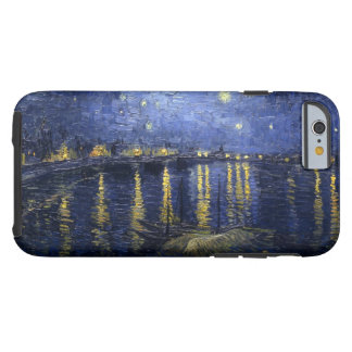 Van Gogh's Starry Night Over the Rhone Tough iPhone 6 Case