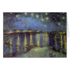 Van Gogh's Starry Night Painting Card