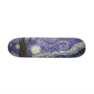 Van Gogh's 'Starry Night' Skateboard