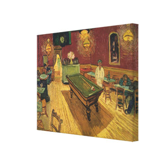 Van Gogh's The Night Café (Le Café de nuit) 1888 Canvas Print