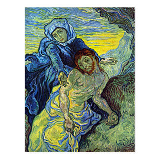 Van Gogh's 'The Pieta' Postcard