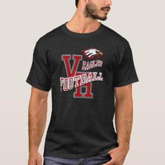 Van Horn Eagles Football T-Shirt Dark