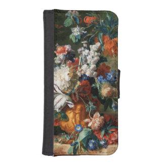 Van Huysum's Bouquet of Flowers wallet cases