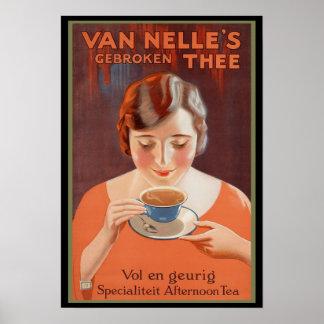 Van Nelle s Tea Advertising Poster