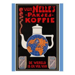 Van Nelle's Coffee - Vintage Advertising Postcard