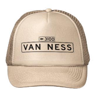Van Ness Ave., San Francisco Street Sign Cap