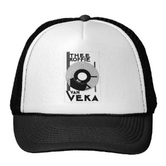 Van Veka Koffie coffee - Dutch vintage retro ad Cap