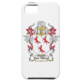 Van Wesel Family Crest iPhone 5 Cases