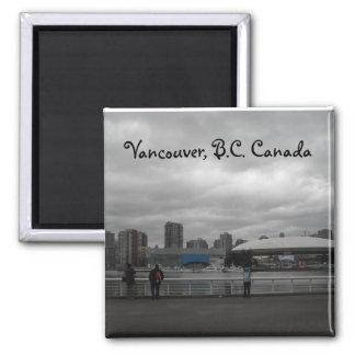 Vancouver, B.C. Canada Magnet
