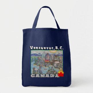 Vancouver B.C. Canada Tote Bag