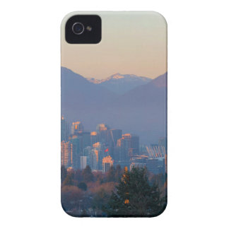 Vancouver BC Downtown Cityscape at Sunset Panorama iPhone 4 Cover
