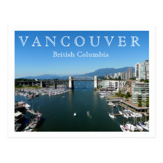 Vancouver, BC Postcard