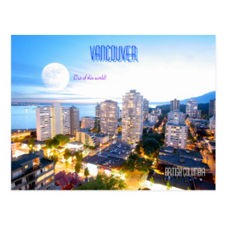 Vancouver, BC - vintage style Post Card