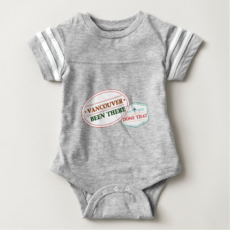 Vancouver Been there done that Baby Bodysuit