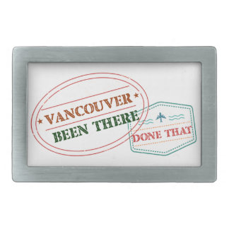 Vancouver Been there done that Belt Buckle